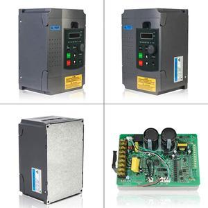 Image 5 - Variateur de fréquence VFD pour moteur triphasé 220 kw, 220V, entrée monophasée, variateur, entrée 220v, sortie 3 phases, vitesse réglable