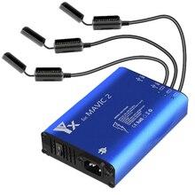 5 в 1 Mavic 2 зарядное устройство 3 способ зарядки аккумулятора 2 Usb порта дистанционное управление телефон планшет Зарядка для-Dji Mavic 2 Pro Zoom зарядное устройство концентратор