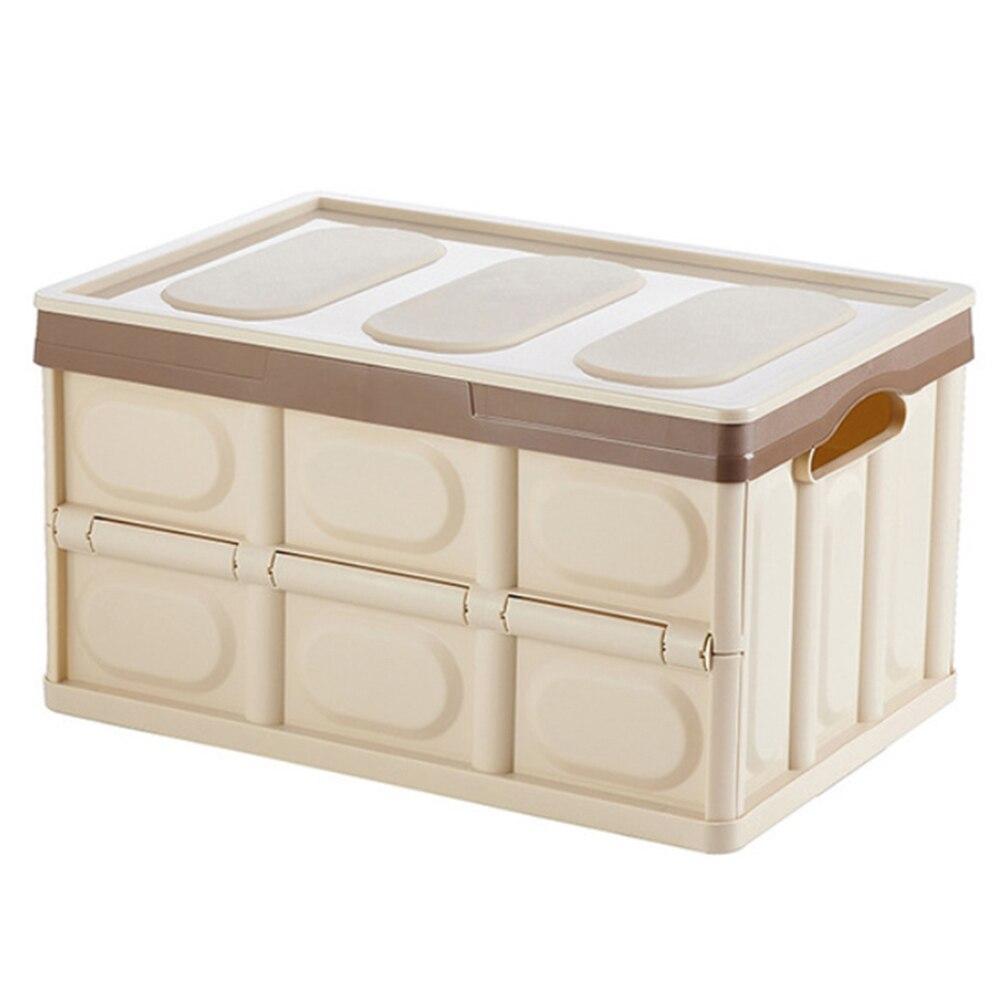 Boîte de rangement pliable pliable pour les organisateurs d'économie d'espace de voyage de voiture de maison de placard 66CY