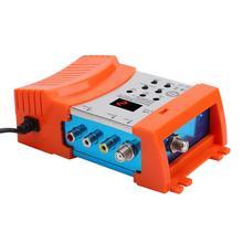 HD Modulator Digital HDMI compatible to RF VHF / UHF PAL/NTSC Frequency TV Modulator AV to RF Converter TM68 M69L  M66