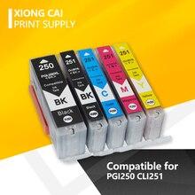 цена на 30Pcs Compatible PGI250 PGI 250  CLI251 Ink Cartridge For Canon PIXMA IP7220 IP8720 MX922 MX722 MG5420 MG5422 MG5520 MG6320 MG6