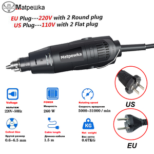 Image 4 - Dremel mini electric drill engraver Rotary Tool polishing machine 180W Power Tool Variable Speed engraving pen with accessories