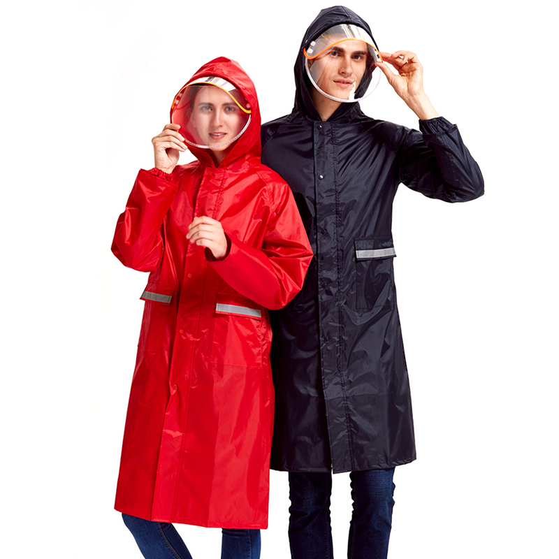 Motorcycle Pants Jacket Raincoat Women Scooter Set Ladies Hooded Raincoat Overall Plastic Impermeable Girls Rain Coat JJ60YY