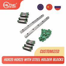 Rail Carriages Linear-Guide Cnc Router Hgh25ca HGW20CC Hgr25 1000mm Slide-Block Square