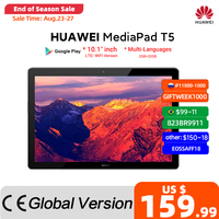 Global Version HUAWEI MediaPad T5 2GB 32GB Tablet PC 10.1 inch Octa Core Dual Speaker 5100 mAh Support microSD Card Android 8.0 1