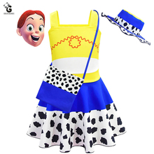 New Toy Girls Dress Story Costumes Kids Halloween Costumes For Kids Princess Dresses Cosplay Fancy Party Dress For Girls цена в Москве и Питере
