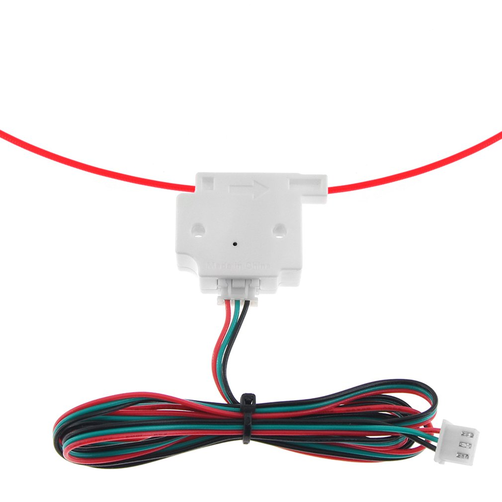 1.75mm Filament Material Run Out Detection Module Sensor For 3D Printer Parts Wire Monitoring Trigger Accessories