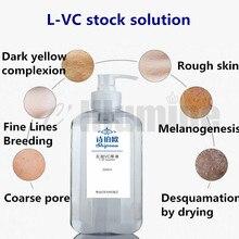 Вц жидкий витамин с эссенция восполняет кожу осветляет Пятна осветляет экстракт для лица Ремонт 500 мл