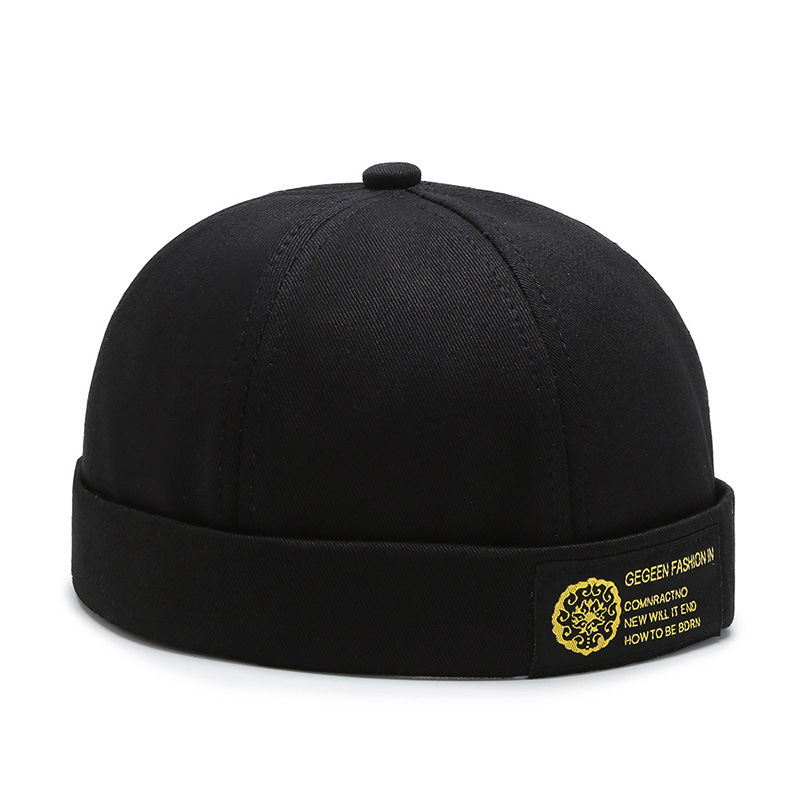 New Fashion Four Seasons Landlord Hat Street Hipster Hip Hop Hats Canopy Leather Cap Men's And Women's Universal Caps