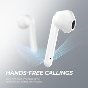 Image 5 - SoundPEATS TrueAir QCC3020 Bluetooth 5.0 TWS אוזניות HiFi סטריאו APTX Wireless אוזניות CVC רעש ביטול 30 שעות זמן לשחק