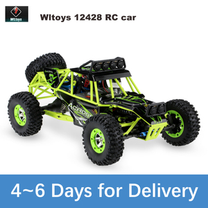 2.4G 4WD Wltoys 12428 1/12 RC Car 4wd Electric Brushed Racing Crawler RTR High Speed RC Radio Control Car Remote Control Car(China)