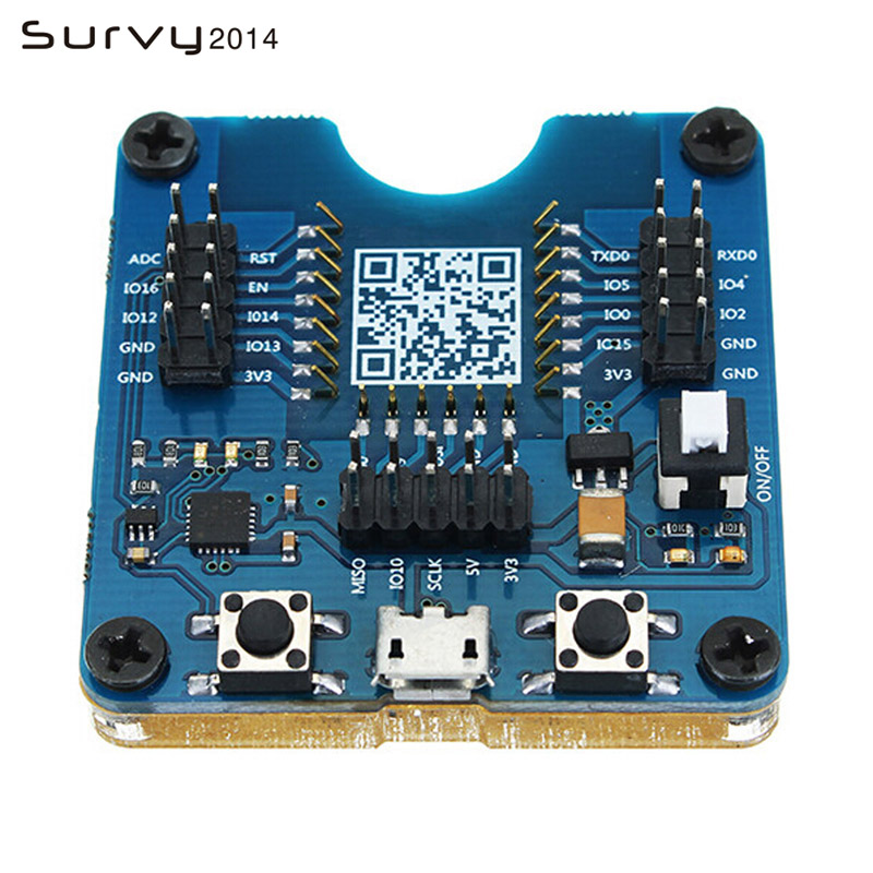 ESP32 Test Board, Small Batch Burn Fixture, ESP-WROOM-32 Module ESP8266 WIFI Diy Electronics