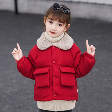 Baby Girls Jacket 2019 Autumn Winter For Coat Kids Warm Outerwear Boys Children Clothes 5 Color