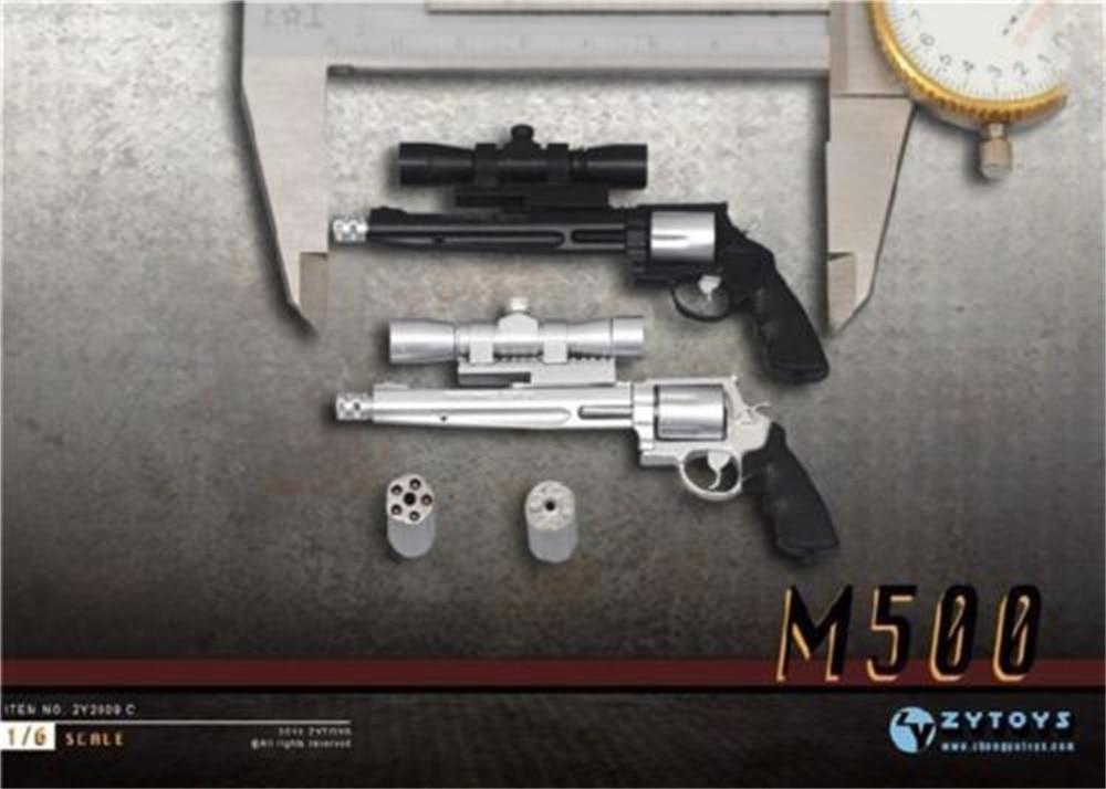 Deux échelle 1//8 en plastique pistolet miniature Toys-carabine et fusil d/'action figures