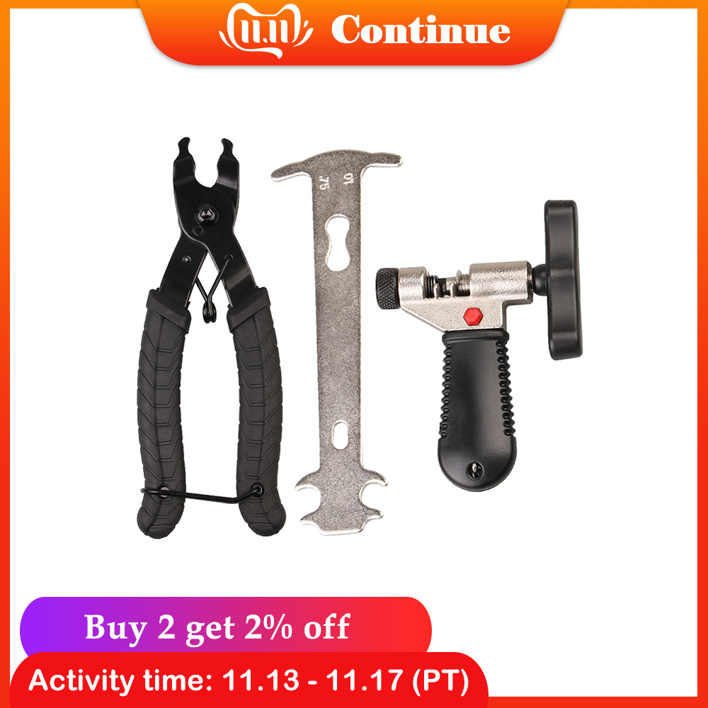 MTB Bike Repair Tool Set  Bicycle Chain Tool Kit Bicycle Chain Remover Plier Chain Checker MTB Bike Cycling Bicycle Equipment