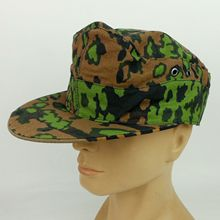 Reproduction WWII German M42 Cap Hat Oak Leaf Reversible Camo In Sizes Military Store