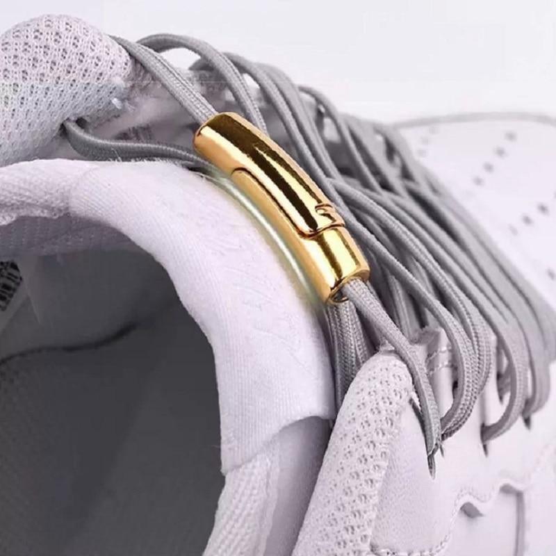 1Pair Fashion Magnetic Shoelaces Elastic No Tie Shoe Laces Kids Adult Unisex Sneakers Shoelace Quick Lazy Laces Shoe Strings