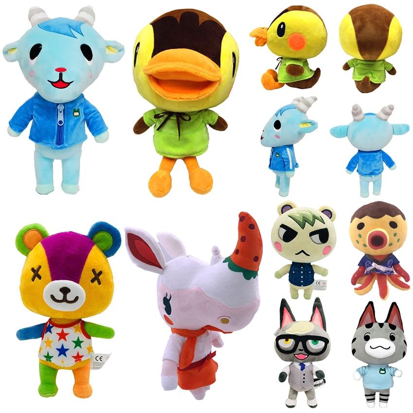 Raymond Animal Crossing Plush Toy Interruptores Ketchup Marechais dar Amiibo Isabelle Deslizante Cartão de Brinquedo de Pelúcia Boneca de Pelúcia