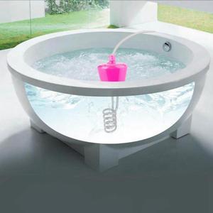 Image 5 - 3000W calentador eléctrico flotante 3m Elemento calentador de agua Suspensión de inmersión portátil piscina de baño