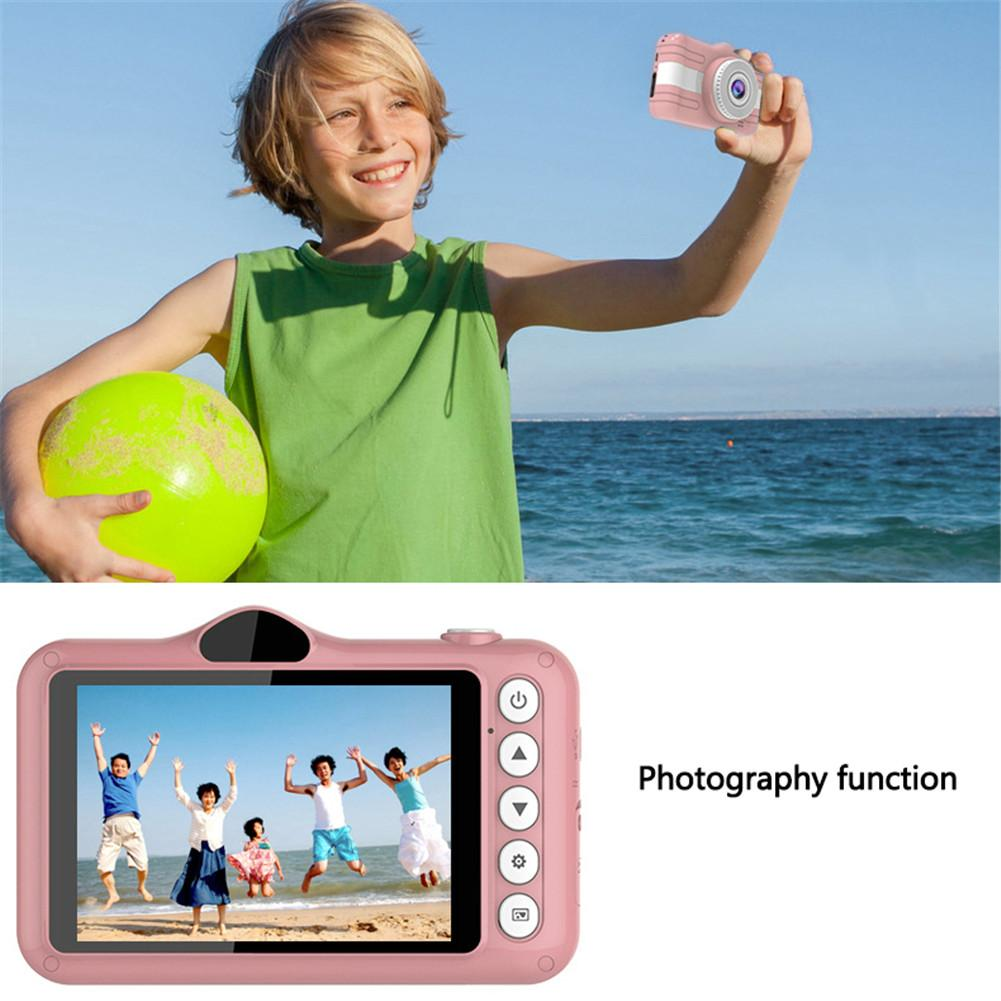 Kids Sports Camera 8MP 3.5inch Mini Digital Toy Camera With Card Reader 32GB Memory Card Christmas Birthday Gift For Children