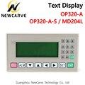OP320-A OP320-A-S MD204L tekstweergave ondersteuning xinjie V6.5 ondersteuning 232 485 422 communicatie poorten
