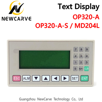 OP320-A OP320-A-S MD204L text display support xinjie V6.5 232 485 422 communications ports - discount item  15% OFF Machinery & Accessories