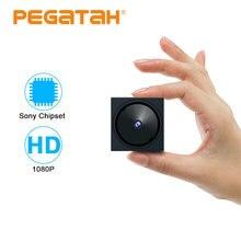 1080P מיני AHD מצלמה עבור טלוויזיה במעגל סגור מצלמה מערכת מיני אבטחת מצלמה עם 5 ציר סוגר OSD תפריט