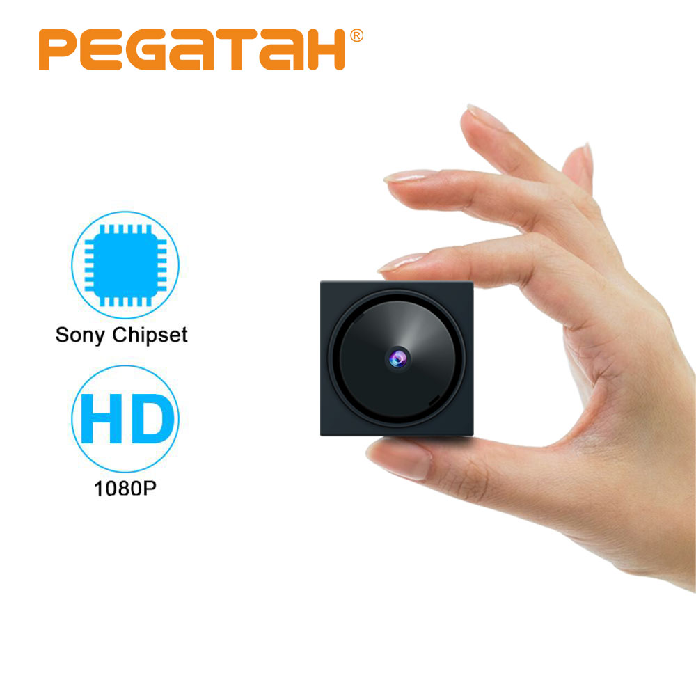 1080P  Mini AHD Camera For Cctv Camera System MINI Security Camera With 5-Axis Bracket And  OSD Menu