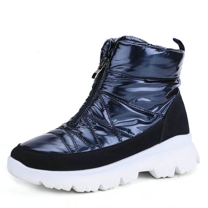 New 2019 Women Winter Boots Short Style 50% Natural Wool Boots Non-slip Waterproof Snow Boots Woman Fashion Ankle Boots