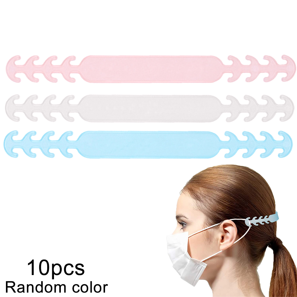 Face Mask Ear Hooks Buckle Mask Fixing Buckle Adjustable Ear Strap Extension Disposable Mask Anti Lock Buckle Dust Mask Artifact
