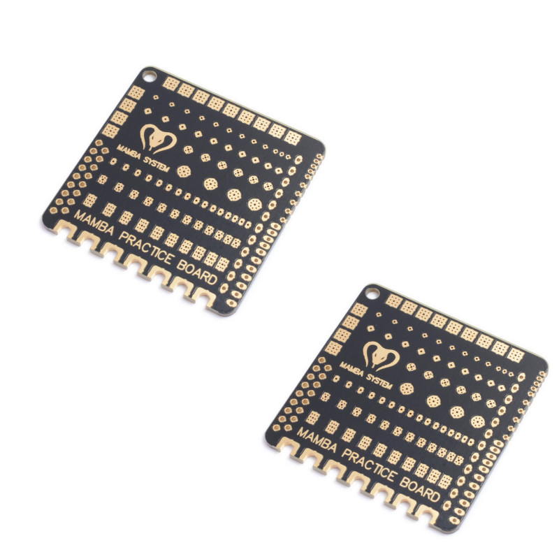 2PCS Diatone Mamba Soldering Practice Board 49x49x1.6mm For RC Drone FPV Racing