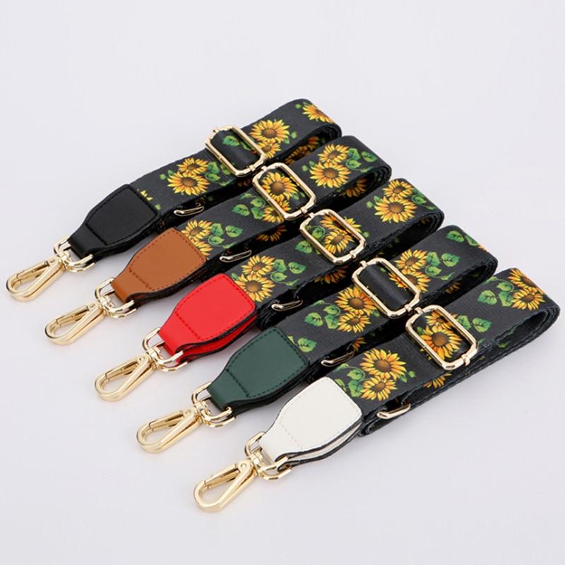 Женская разноцветная Регулируемая Наплечная вешалка для сумок, цветные ремни для сумок, аксессуары для декоративной Сумки на цепочке