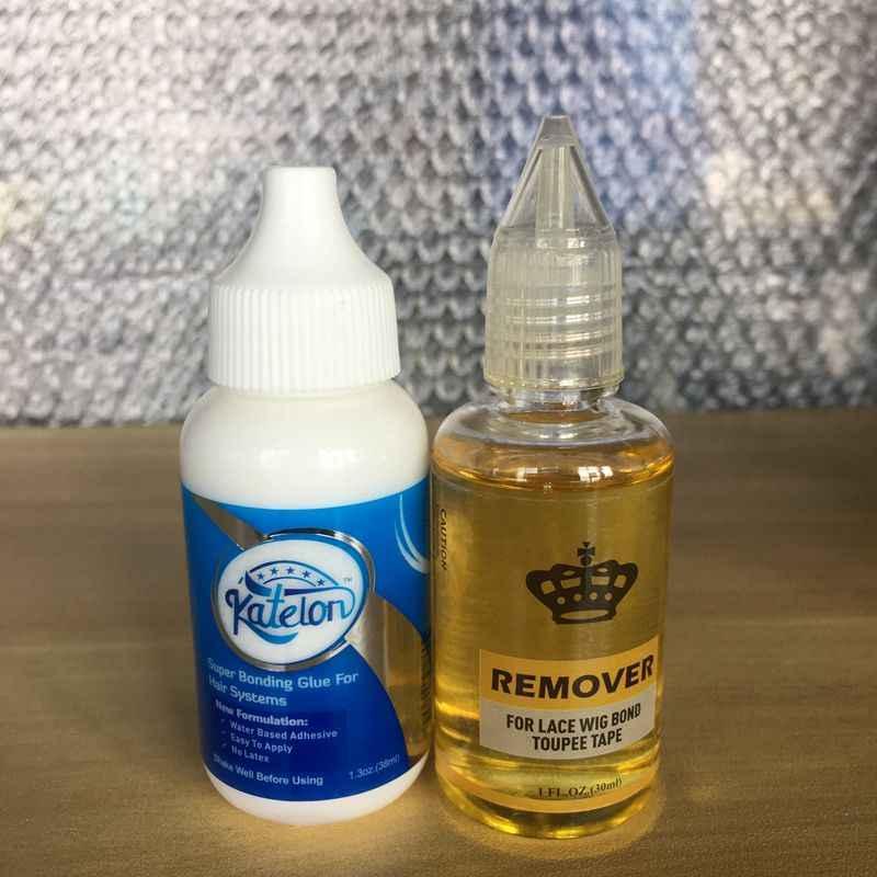 40ML koronkowa peruka klej wodoodporna peruka klejenie klej niewidoczny klej z 1 butelka Remover dla koronki peruka kleje Bobo peruka Bond