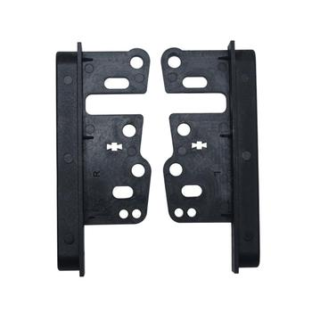 Universal Bracket Double Din Stereo Panel Fascia Radio DVD Dash Mount Trim Kit for Toyota image