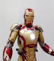 Animation Frontline Ultron Era Avengers 2 Iron Man Mk42 Gold MK43 Red Garage Kit