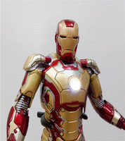 Animation Frontline Ultron Era Avengers 2 Iron Man Mk42 Gold MK43 Red Garage Kit