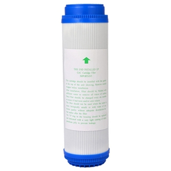 6 шт. 10 дюймов GAC гранулированный активированный уголь блок фильтр для воды картридж Сменный фильтр очиститель воды UDF Замена
