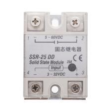 Solid State Relay SSR DC-DC 25A 3-32VDC/5-60VDC 10pcs solid state relay ssr 60 dd dc dc 60a 3 32vdc 5 60vdc