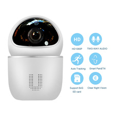 WiFi IP Camera Indoor Wireless Security Camera Motion Detection Night Vision Home Surveillance Monitor 2-Way Audio Baby/Pet/Elde no need layout bnc motion detection night vision home security dvr dome camera tf card slot support loop recording tv live view
