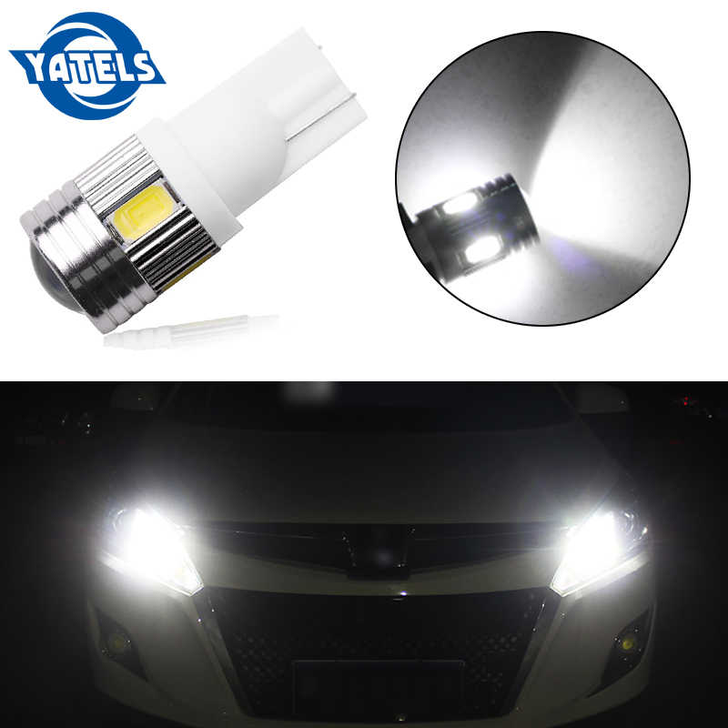 1 PCS T10 LED W5W high power 6 5630 SMD  168 194 2825 bulb LED lights parking lights license plate position lights auto part