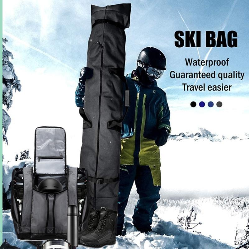 SoarOwl Snowboard Bag Large Capacity Ski Backpack Waterproof Ski Boots Outdoor Winter Ski Equipment Storage Bag Unisex backpack