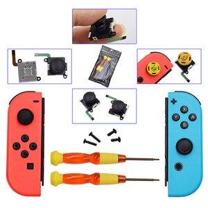 Image 5 - Bevegac controlador de jogos analógicos 3d, joystick para nintendo switch ns joy con, 21 peças aparelhos