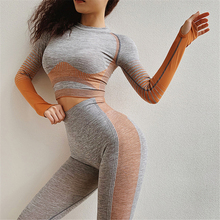 Ariel Sarah New Arrivals Sexy Yoga Set Gym Clothing Sports Wear for Women Breathable Sportswear Top+Leggings 2pcs