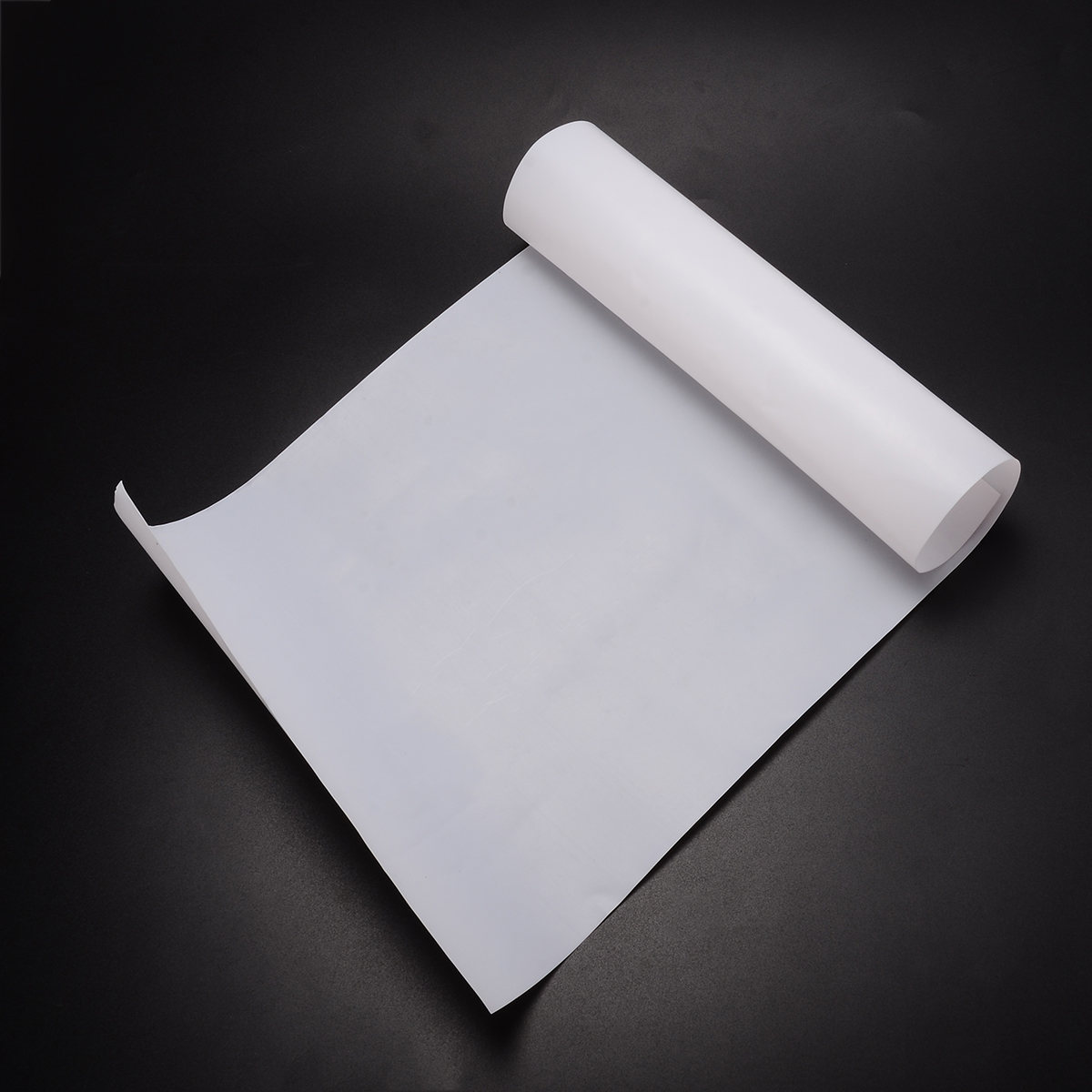 1Pcs 500x250x0.3mm White PTFE Film/Sheet Virgin High Strength Temperature With Wear Resistant For Power Tools Accessories