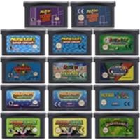 32 Bit Video Game Cartridge Console Card for Nintendo GBA Mariold Kart Golf Tennis Party Luig US/EU Version Mari Series Edition