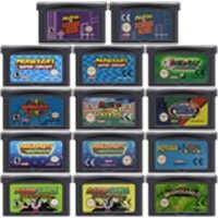 32 Bit Video Spiel Patrone Konsole Karte für Nintendo GBA Mariold Kart Golf Tennis Party Luig UNS/EU Version mari Serie Edition