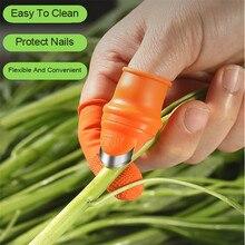Мульти большой палец резак силикон палец протектор овощи сбор урожая нож быстрая сбор растение кирка палец нож садоводство инструменты