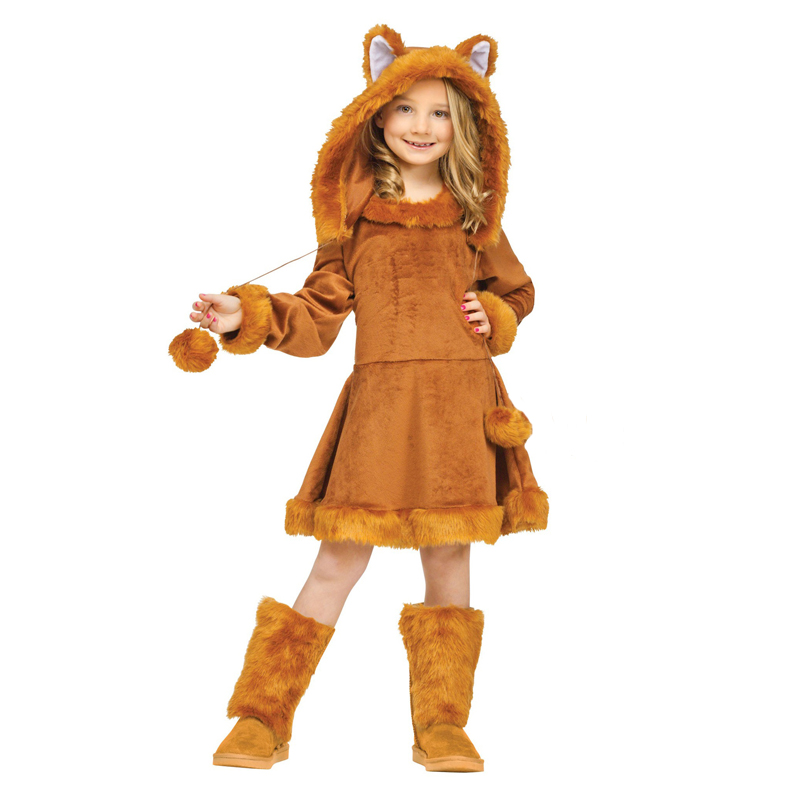Snailify Halloween Costume For Kids Girls Fox Costume Sweet Animal For Purim Carnival