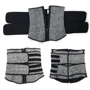 Image 5 - Women Hot Sweat Neoprene Waist Trainer Corset Trimmer Belt Body Shaper Slimming for Weight Loss Body Stomach Shaper Cincher