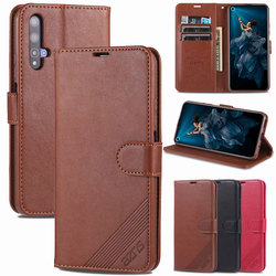 Flip Case For Huawei Nova 5T Case Nova 5i Pro Nova 5 T 5Z Cover Leather Wallet Shockproof Plain Vintage Phone Shell Nova5t Nova5